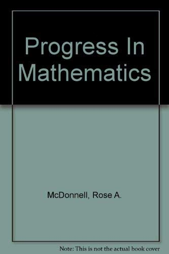 9780821525746: Progress In Mathematics - Grade 4