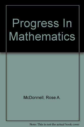 9780821525746: Progress in Mathematics, Grade 4, Spiral Review Practice Book