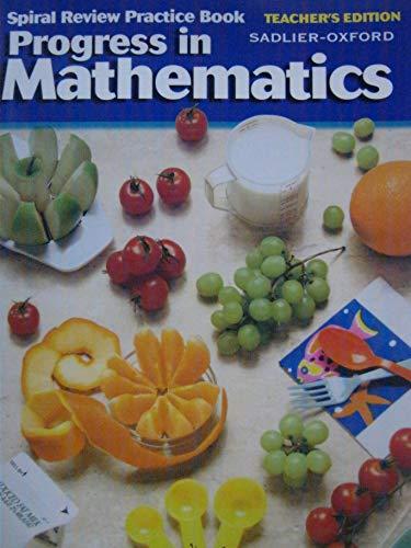 9780821525852: Teacher's Edition, Spiral Review Practice Book, Progress in Mathematics, Grade 5