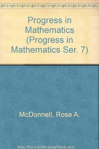 9780821526002: Progress in Mathematics (Progress in Mathematics Ser. 7)