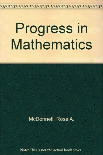9780821526149: Progress in Mathematics: Grade 4 Teacher's Edition