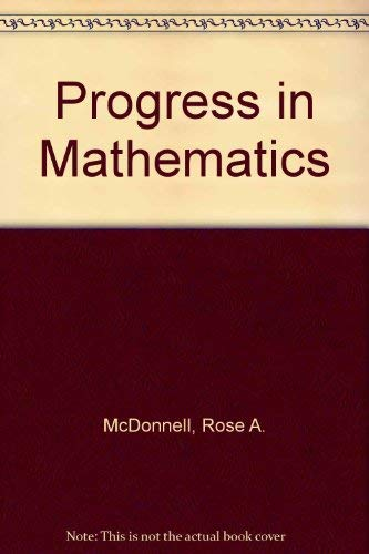 9780821526323: Progress in Mathematics