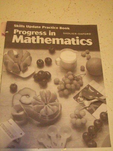 9780821526552: Progress in Mathematics, Grade 5 Skills Update Practice Book