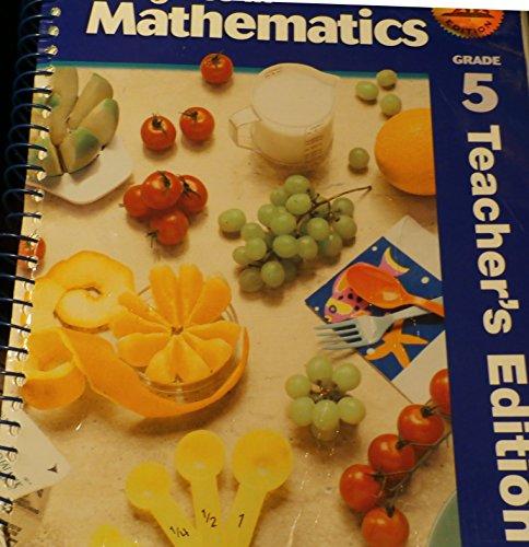 9780821528150: Progress in Mathematics Grade 5 Teacher's Edition California Edition