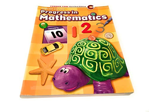 9780821536001: Progress in Mathematics - Grade K [Paperback] by sadlier