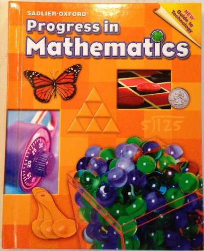 9780821536049: Progress in Mathematics, Grade 4 Sadlier-Oxford