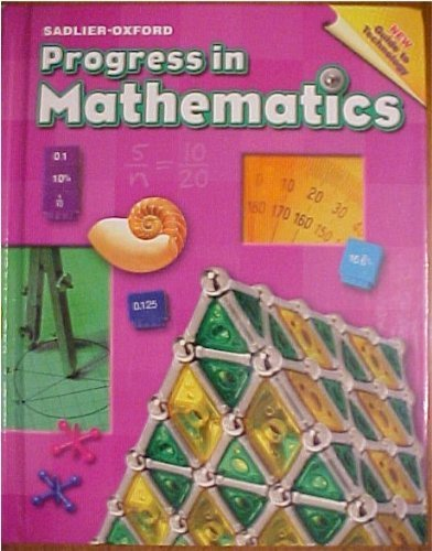9780821536063: Progress in Mathematics: Grade 6