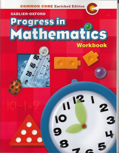 9780821551011: Progress in Mathematics ©2014 Common Core Enriched Edition Student Workbook Grade 1