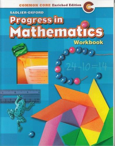 9780821551028: Progress in Mathematics ©2014 Common Core Enriched Edition Student Workbook Grade 2