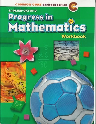 9780821551035: Progress in Mathematics ©2014 Common Core Enriched Edition Student Workbook Grade 3 Paperback – 2014