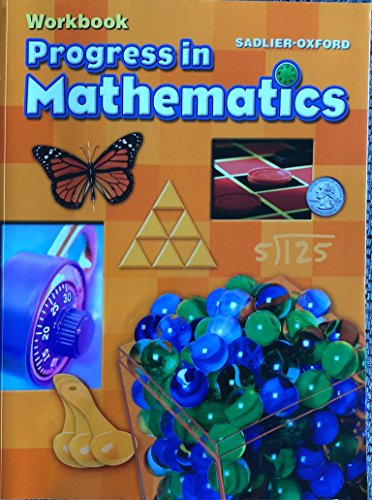 9780821551042: Progress in Mathematics ©2014 Common Core Enriched Edition Student Workbook Grade 4
