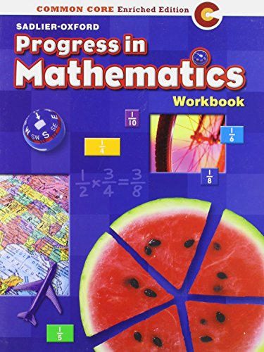 9780821551059: Progress in Mathematics: Commom Core Enriched Edition: Workbook (Student's Edition) Grade 5