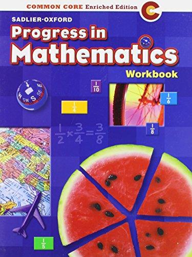 9780821551059: Progress in Mathematics: Work Book Grade 5