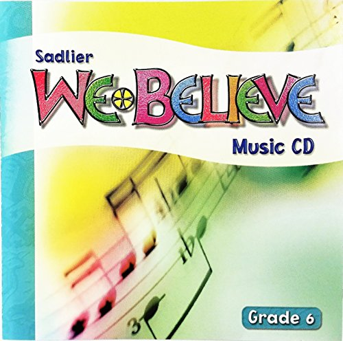 9780821554364: Sadlier We Believe Music CD, Grade 6