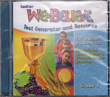 9780821554524: We Believe: Grade 2 CD-ROM Test Generator and Resource for Teachers & Catechists