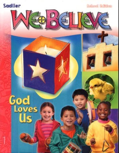 9780821555019: We Believe God Loves Us Parish Edition ( Grade 1 )