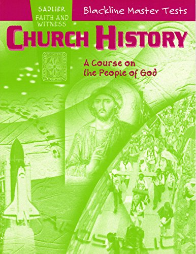 9780821556757: Church History: A Course on the People of God Blackline Master Tests