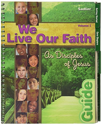 9780821556795: We Live Our Faith:As Disciples of Jesus Vol 1