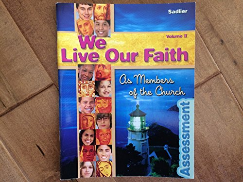 9780821556931: We Live Our Faith As Members of the Church: Assessment Book, Vol. 2