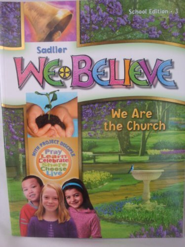 9780821563038: We Believe We Are the Church School Edition 3