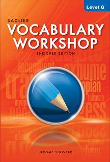 9780821566329: Vocabulary Workshop Enriched Edition Level G Grade 12