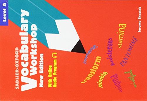 9780821571064: Vocabulary Workshop: Level A