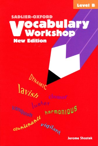 9780821571071: Vocabulary Workshop, Level B