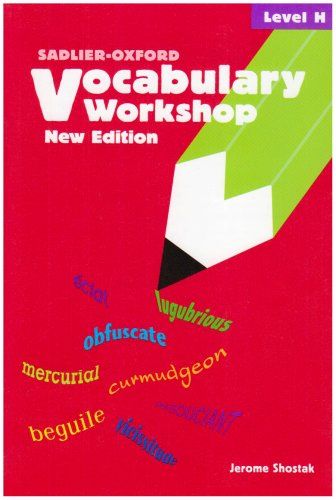 9780821571132: Vocabulary Workshop: Level H