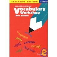 9780821571163: Vocabulary Workshop: Level A - Teacher's Edition