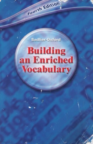 9780821575710: Building an Enriched Vocabulary: Fourth Edition