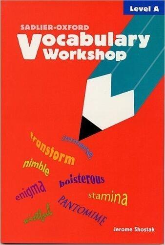 9780821576069: Vocabulary Workshop: Level A