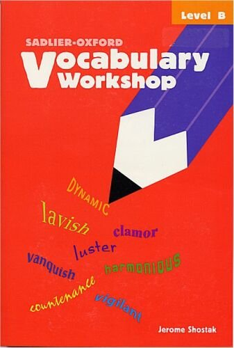 9780821576076: Vocabulary Workshop: Level B