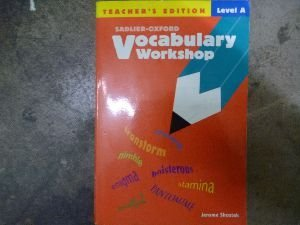 9780821576168: Vocabulary Workshop, Level A, Teacher's Edition