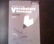 9780821576366: Vocabulary Workshop Test Booklet Form B Level A