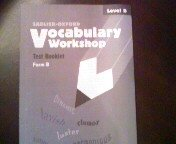 9780821576373: Vocabulary Workshop Test Booklet Form B Level B