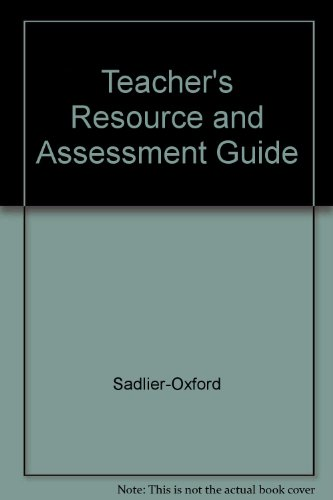 9780821578049: Teacher's Resource and Assessment Guide