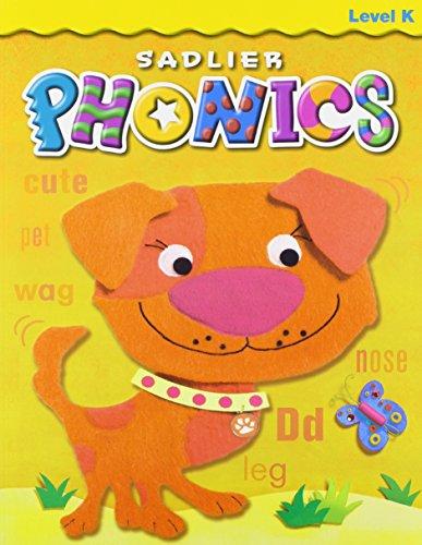 9780821579008: Sadlier Phonics Level K Student Book