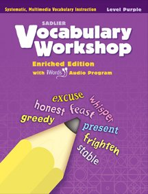9780821580028: Vocabulary Workshop ©2011 Level Purple (Grade 2) Student Edition
