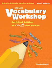 9780821580042: Vocabulary Workshop ©2011 Level Orange (Grade 4) Student Edition Paperback - 2011