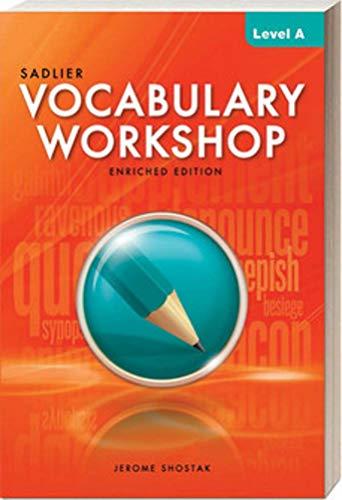 9780821580066: Vocabulary Workshop, Level A