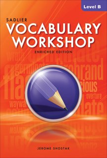 9780821580073: Vocabulary Workshop Level B