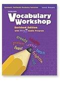 9780821580226: Vocabulary Workshop ©2011 Level Purple Teacher's Edition (Grade 2)
