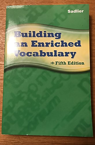 9780821581254: Building an Enriched Vocabulary