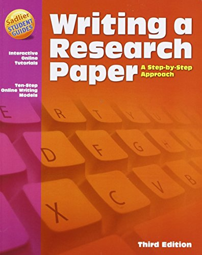 9780821581803: Writing a Research Paper: A Step-by-Step Approach, 3rd Edition
