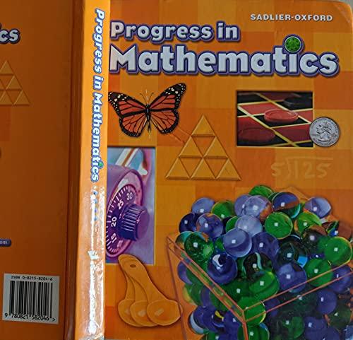9780821582046: Progress in Mathematics: Grade 4