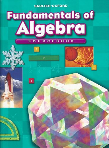 9780821582077: Fundamentals of Algebra: Sourcebook, Course 1