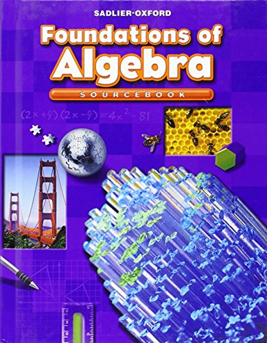 9780821582084: Foundations of Algebra: Sourcebook, Course 2