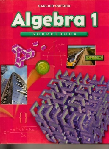 9780821582091: Algebra 1
