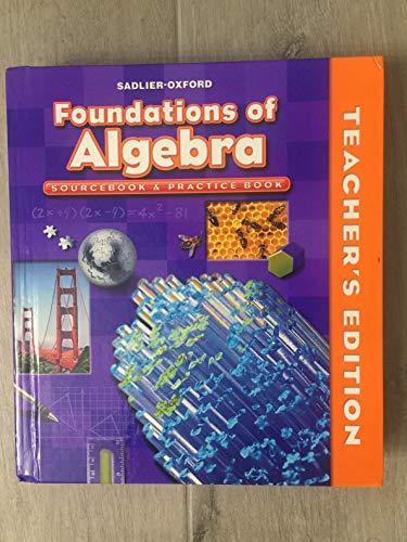 9780821582183: Foundations of Algebra Sourcebook & Practice Book Course II Gr. 8/Teacher's Edition (Course II Grade 8)