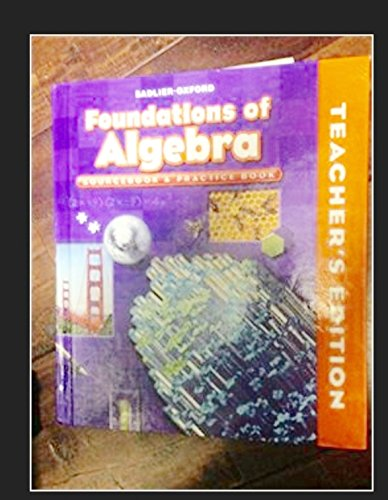 9780821582183: Foundations of Algebra Sourcebook & Practice Book Course II Gr. 8/Teacher's Edition (Course II Grade 8)